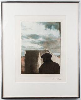 "Joseph Cornell ""Untitled"" Photogravure, 1972"