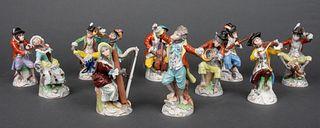 Dresden Porcelain Money Band, 11