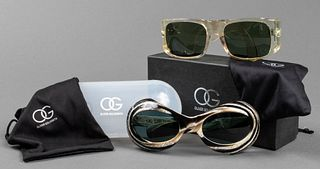 Oliver Goldsmith Designer Sunglasses, 2 Pairs