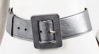 Yves Saint Laurent Metallic Leather Belt