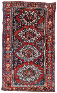 Bakhtiyari Rug, Persia, last quarter 19th century; 8 ft. 5 in. x 5 ft.