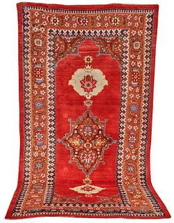 Bidjar Carpet, Persia, ca. 1875; 11 ft. 6 in. x 6 ft.