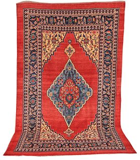 Bidjar Carpet, Persia, ca. 1875; 11 ft. 7 in. x 6 ft. 10 in.