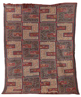 Sileh Rug, Caucasus, last quarter 19th century; 9 ft. 5 in. x 7 ft. 2 in.