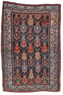 Bidjar Rug, Persia, last quarter 19th century; 7 ft. 1 in x 4 ft. 8 in.