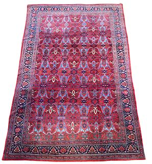 Bidjar Carpet, Persia, ca. 1900; 17 ft. 9 in. x 11 ft.