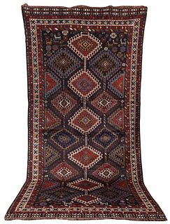 Lori Baktiaryi Carpet, Persia, early 20th century; 11 ft. 2 in. x 5 ft. 8 in.