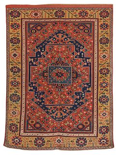Bergamo Rug, Turkey, first half 19th century; 6 ft. x 4 ft. 6 in.
