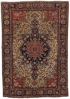 Sarouk Fereghan Rug, Persia, first quarter 20th century; 4 ft. 10 in. x 3 ft. 5 in.