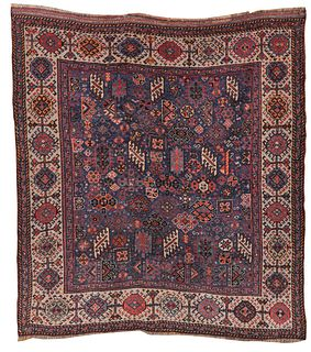 Shekarlu Rug, Persia, third quarter 19th century; 6 ft. x 5 ft. 3 in.