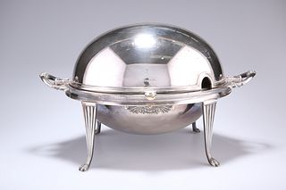 AN EARLY 20TH CENTURY ELECTROPLATED BREAKFAST WARMER, by Wa
