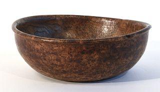 Good Early American Burl Bowl