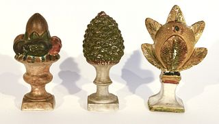 Chalkware Pinecone - Compote and Armature