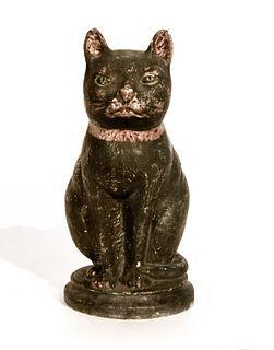 Large Chalkware Black Cat