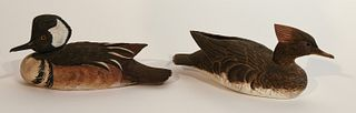 Fine Pair of Decorative Decoys by O.E. Anderson