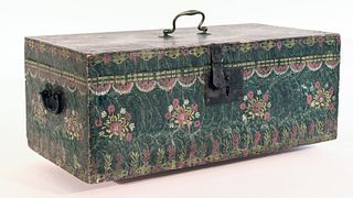 Very Fine Paint-Decorated Box