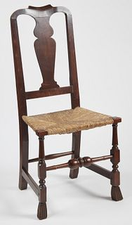 Queen Ann Spanish Foot Side Chair