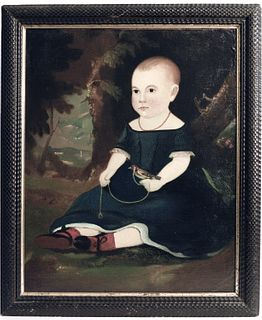 Portrait of a Child - William Matthew Prior