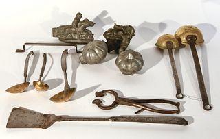 Early Metalware Lot
