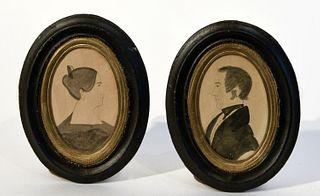Pair of Miniature Portraits