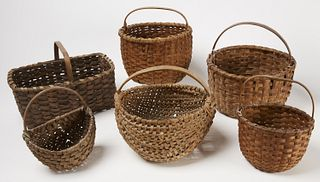 6 Good Early Splint Baskets