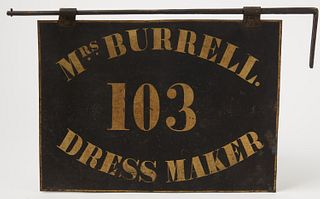 Dress Maker Trade Sign