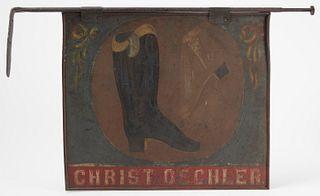 Shoe Trade Sign