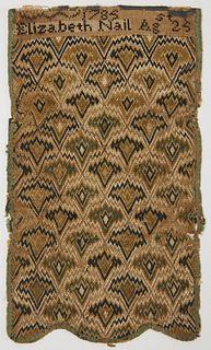 Needlework Picture 1785