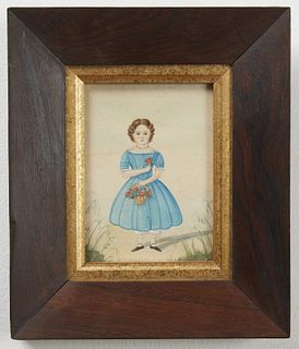 Two Miniature Portraits of Childern