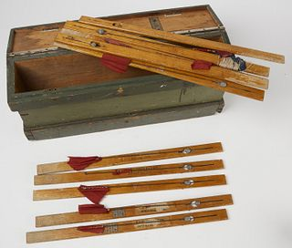 Early Stick-Up Ice Fishing Rig