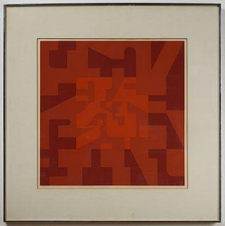 Norman Ives Silk screen Print