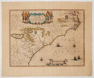 Four Antique Maps