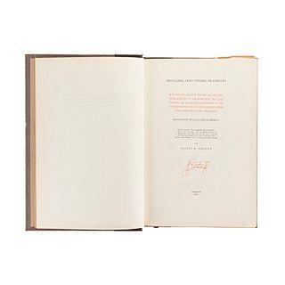 Paredes o Benavente, Toribio de. Relación de los Ritos Antiguos, Idolatrías y Sacrificios de los Indios...Méx1979. Ed de 500 ejemplares