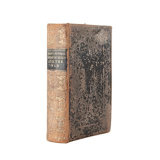Frost, John. Pictorial History of Mexico and the Mexican War. Philadelphia: 1849. Ilustrado con grabados y 7 láminas en color.