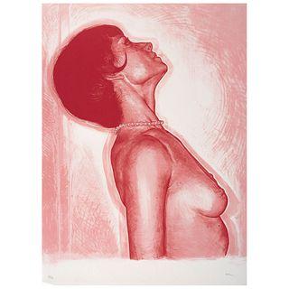 """VÍCTOR RODRÍGUEZ, White 2, 2006, Signed, Lithograph 4 / 75, 27.5 x 22"""" (70 x 56 cm)"""