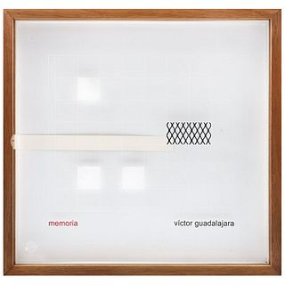 """VÍCTOR GUADALAJARA, Memoria, Unsigned, Laser engraving without print number, 23.6 x 24.8 x 4.5"""" (60 x 63 x 4.5 cm)"""