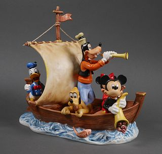 Large Hummel Disney Goebel LAND IN SIGHT TMK7