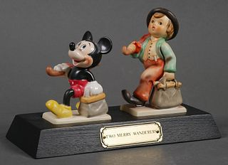 Hummel Disney TWO MERRY WANDERERS Signed