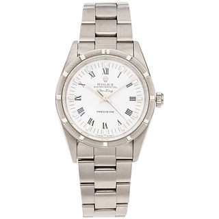 ROLEX OYSTER PERPETUAL AIR KING WATCH IN STEEL REF. 14010, CA. 1991 - 1992 Movement: automatic. Caliber: 3000