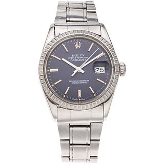 ROLEX OYSTER PERPETUAL DATEJUST WATCH IN STEEL REF. 16030, CA. 1985 - 1986 Movement: automatic. Caliber: 3000 Seri ...