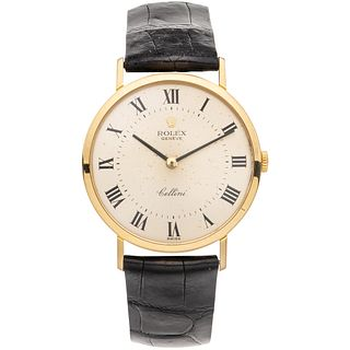 ROLEX CELLINI WATCH IN 18K YELLOW GOLD Movement: manual. Caliber: 1601 Series: 423XXXX Case: 32 mm circular