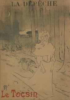 HENRI DE TOULOUSE-LAUTREC (FRENCH, 1864-1901).