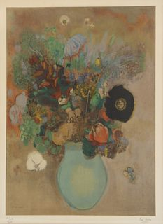 ODILON REDON (FRENCH, 1840-1916).