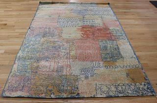 After Paul Klee Ege Axminstrer Wool Rug.