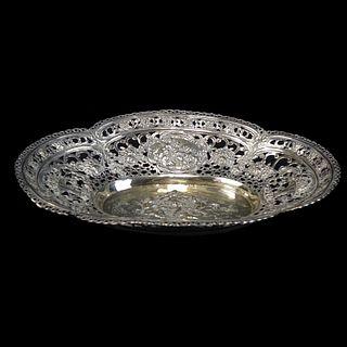Continental 800 Silver Dish