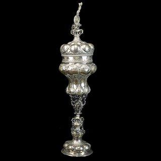 19th C. Austro-Hungarian Silver Chalice