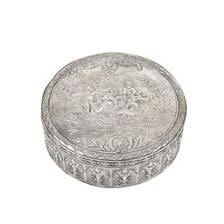 Antique German Sterling Silver Box