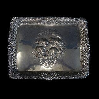 Johnson, Durban & Co Ltd Silver Tray