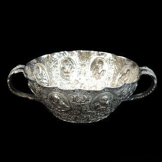 Antique Continental Silver Bowl