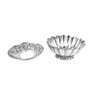 (2) Vintage 800 Silver Tableware
